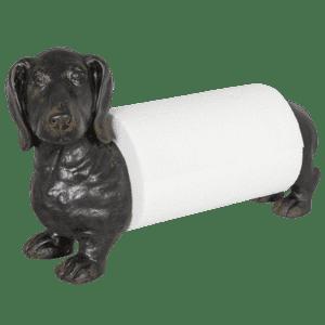 dog hand towel holder