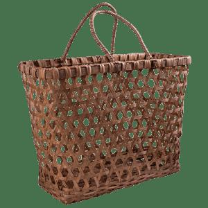 ratten basket bag