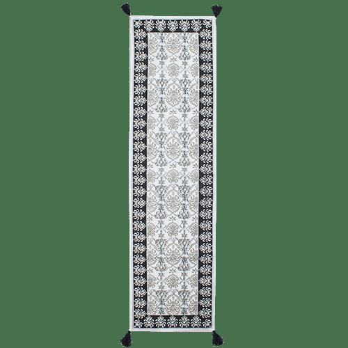 Hand Block Printed Cotton Table Runner - 160cm