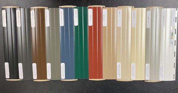roller shutter colors