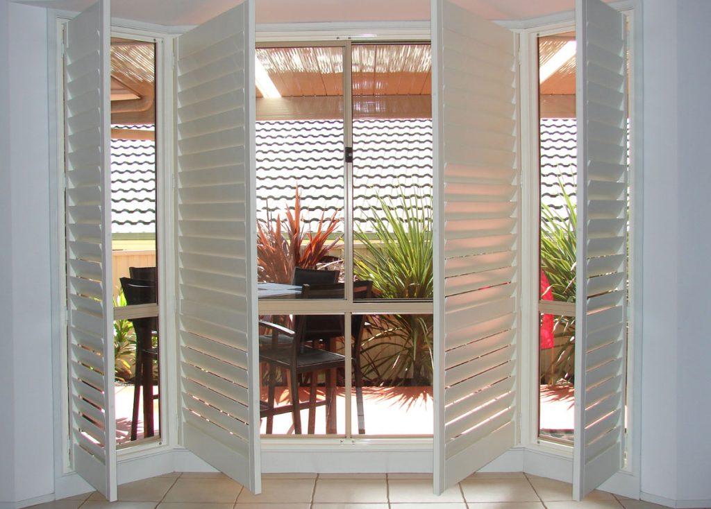 Plantation Shutters Adelaide White Window